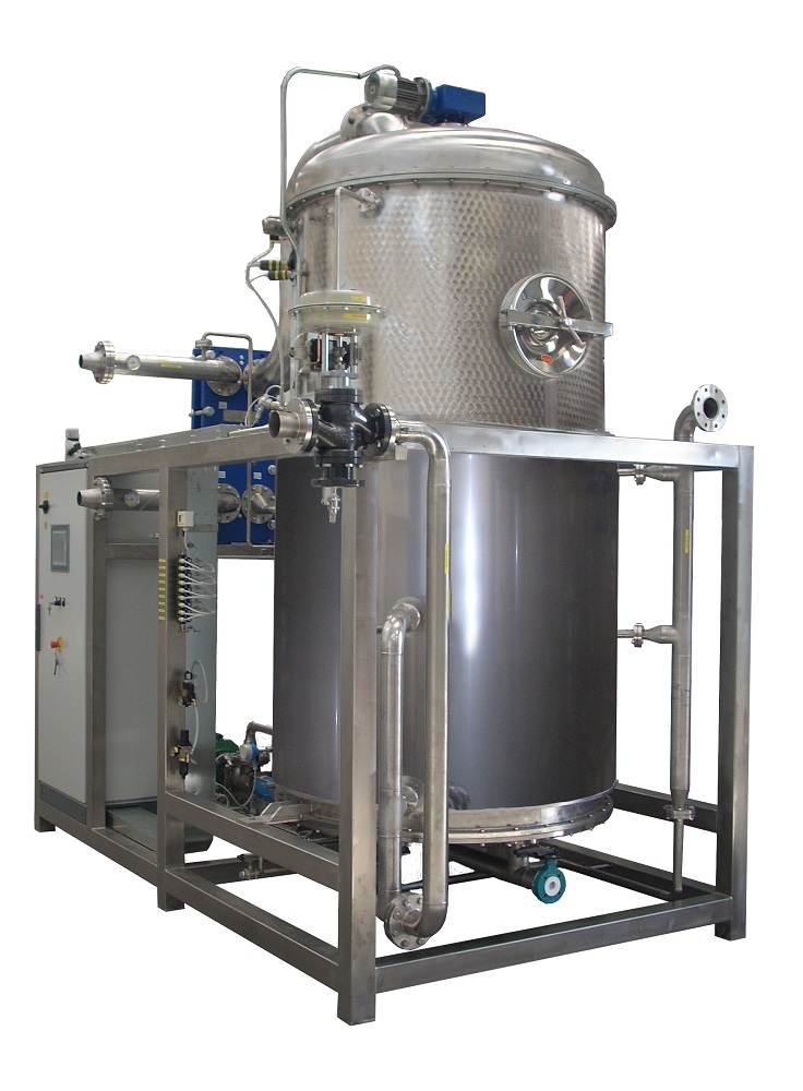 ECO - Model VR WW Series - Multiple Effect Vacuum Evaporators with Alternative Energy Source