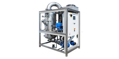 ECO - Model DPE HP Series - Low Temperature Vacuum Wastewater Evaporator with Heat Pump