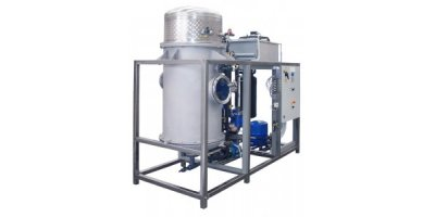 ECO - Model CR HP Series - Low Temperature Vacuum Wastewater Evaporator with Heat Pump