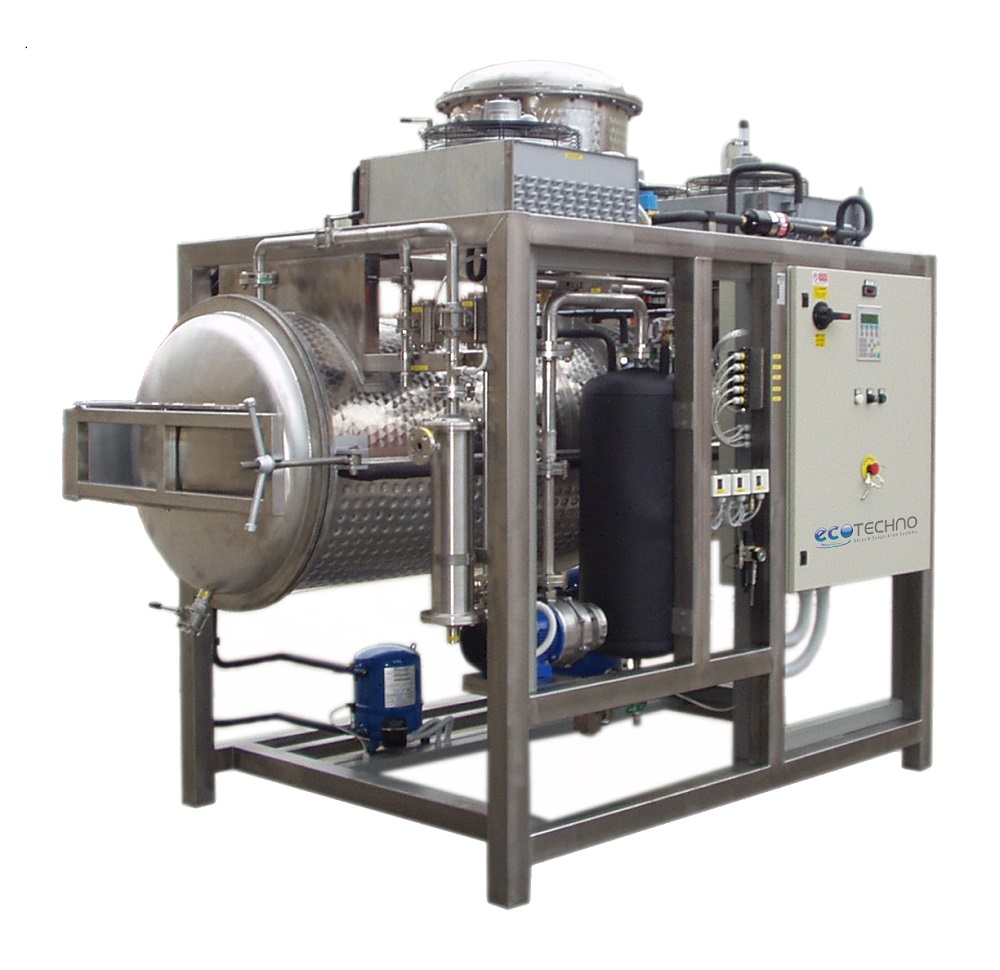ECO - Model DRY HP Series - Low Temperature Vacuum Wastewater Evaporator with Heat Pump