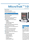 MicroTrak 101 Ultra Low-Flow Gas Mass Flow Meters & Controllers - Datasheet