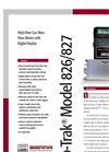 TopTrak - Model 826/827 - High Flow Economical Mass Flow Meters and Controllers - Technical Datasheet