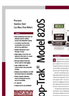 Top-Trak Model 822S & Model 824S Econimical Analog Stainless Steel Mass Flow Meters - Technical Datasheet
