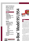 Flo-Box Model 954 Digital Control/Power Supply Products Technical Datasheet