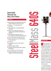 Steel-Mass - Model 640S - Immersible Thermal Gas Mass Flow Meter - Technical Datasheet