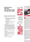 MultiTrak - Model 670S - Multi-Point Gas Mass Flow Meters for Large Ducts and Stacks - Datasheet
