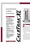 CalTrak XL Primary Standard High-Flow Gas Flow Calibration - Datasheet