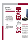SideTrak 840 Analog Mass Flow Controller - Datasheet