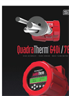 QuadraTherm 640i Air / Gas Thermal Insertion Mass Flow Meters - Datasheet