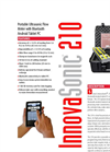 Sierra InnovaSonic 210 Portable Ultrasonic Flow Meter Brochure