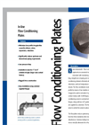 FlowTrak In-line Flow Conditioning Plates - Datasheet