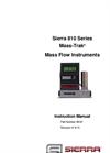 Mass-Trak - Model 810 - Mass Flow Controllers - Instruction Manual