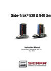 Side-Trak 830 & 840 Series - Manual