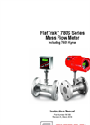 FlatTrak - Model 780S Series - Mass Flow Meter - Instruction Manual