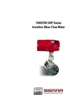 FlatTrak - Model 760S/780 UHP Series - Insertion Mass Flow Meter - Instruction Manual