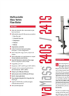 InnovaMass 241S Insertion Vortex Flow Meters - Datasheet