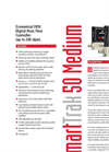 SmartTrak - Model 50 Medium - Economical OEM Digital Mass Flow Controller (up to 200 slpm) - Datasheet