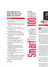 Sierra SmartTrak - Model 100 HP - Ultra-High Pressure Gas Mass Flow Meters & Controllers - Datasheet