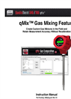qMix Gas Mixing Feature - Instruction Manual