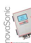 InnovaSonic - Model 207i - Ultrasonic Liquid Flow Meter - Brochure