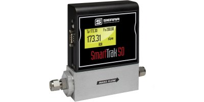 Sierra SmartTrak - Model 50 Series - Economical Digital Mass Flow Controllers & Mass Flow Meters