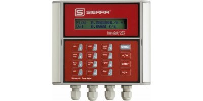 Sierra InnovaSonic - Model 203 - Economical Clamp-On Ultrasonic Water Flow Meter for Accurate Results