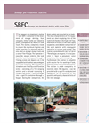 Sereco - Model SBFC - Sewage Pre-Treatment Station with Screw Filter Brochure