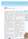 Sereco - Model BFT - Biofilter for Odour Removal Brochure