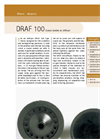 Sereco - Model DRAF 100 - Coarse Bubble Air Diffuser Brochure