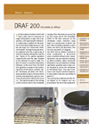 Sereco - Model DRAF 200 - Fine Bubble Air Diffuser Brochure