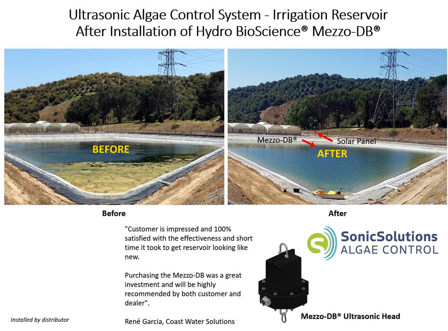 SonicSolutions Algae Control LLC (SSAC)