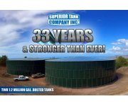 Over 33 years of building Bolted Steel Tanks!