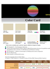 Color Card Brochure