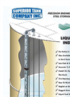 Precision Engineered Bolted Steel Storage Tanks - Liquid Level Indicator - Brochure