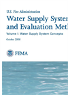 Water Supply Systems and Evaluation Methods Volume I - Brochure
