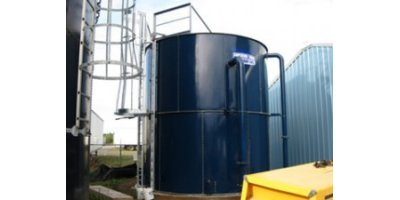 Precision Engineered Factory Powder Coated Steel Storage Tanks