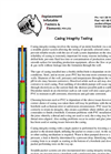 Casing Integrity Testing – Brochure