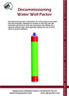 Decommissioning Water Wells Packers – Brochure