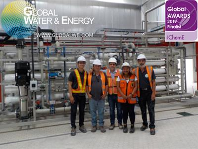Global Water & Energy is a four-time finalist of @IChemE  Global Awards 2019!