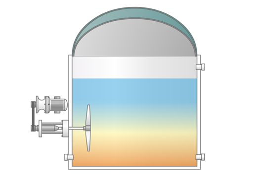 ANAMIX™ a Continuous Stirred-Tank Reactor (CSTR) Anaerobic Digester
