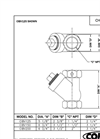 Model CIBC125 - Cast Iron Ball Check Valve Brochure