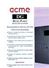 Acme - DG-EN Series - Diesel Fumes Detection System Brochure