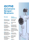 ACME - Model ACRS Series - Automatic Scraper Strainer - Brochure