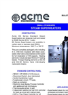ACME - Model ES Series - Small Standard Electric Steam Superheaters - Brochure