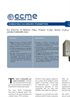 Acme - 40-ST Series - Combustible Gas Sensor-Transmitter - Brochure