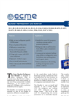 ACME - QD-REF Series - Quadset Refrigerant Gas Monitor - Brochure