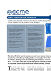 ACME - Model UN-ECH Series - Uniset Stand-Alone Gas Monitor - Brochure