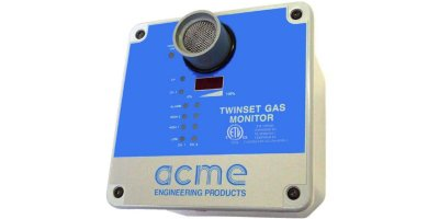 ACME - Model TW-ECH - Twinset Stand-Alone Dual Gas Monitor