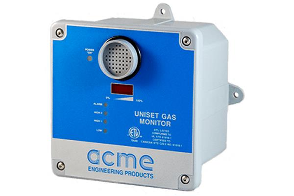 ACME UniSet - Model UN-ECH Series - Stand-Alone Gas Monitor
