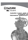 DeZURIK - Model PTW - Balancing Plug Valves Technical Brochure